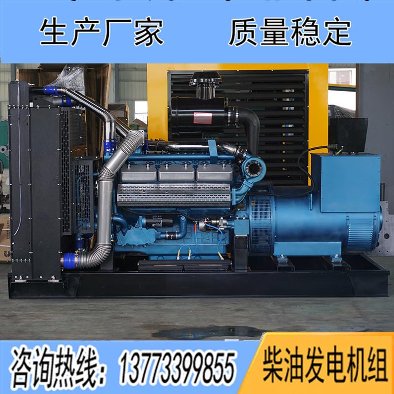 350KW东风研究所SY258TAD38柴油发电机组
