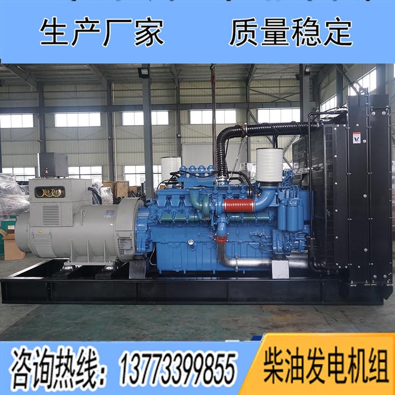 500KW奔驰12V1600G20F柴油发电机组