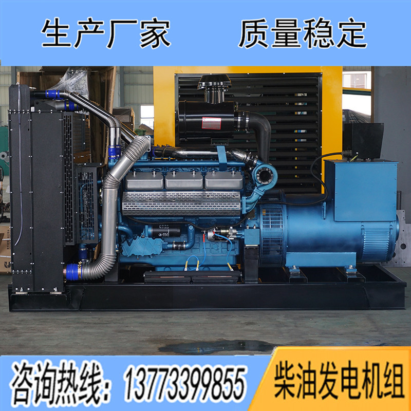 300KW东风研究所SY258TD33柴油发电机组