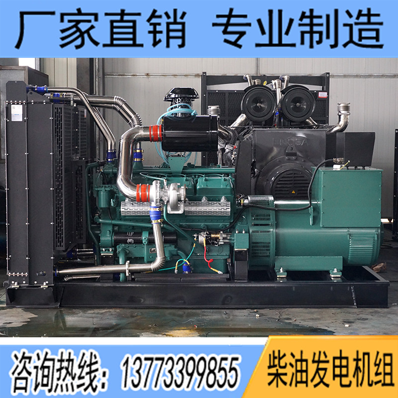500KW通柴TCU500柴油发电机组