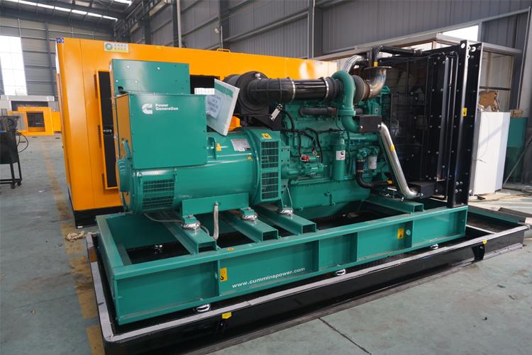 进口康明斯柴油发电机组1000KW1200KW1500KW2000KW